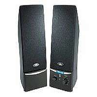 Cyber Acoustics CA-2014rb - Speakers - for PC - 4 Watt (total) - black