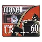 Maxell UR 60 - Cassette - 1 x 60min - Normal BIAS (109010)