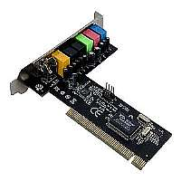 StarTech.com 7.1 Channel PCI Digital Surround Sound Adapter Card - 24 bit - Sound card - 48 kHz - 7.1 - PCI - VIA VT1723