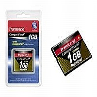 Transcend Ultra Speed Industrial 1GB CompactFlash Card - 100X (TS1GCF100I)