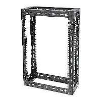 RackSolutions Open Frame Wall Mount Rack - Rack (wall mount) - 9U - 19""