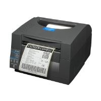 Citizen CL-S521 - Label printer - monochrome - direct thermal - Roll (11.8 cm) - 203 dpi - up to 360 inch/min - USB, LAN, serial