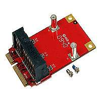 StarTech.com Half Size to Full Size Mini PCI Express Adapter - Riser card