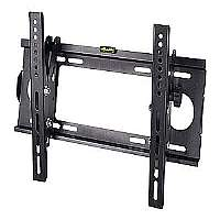SIIG Universal Tilting TV Mount - Mounting kit ( wall mount ) for LCD / plasma panel - cold-rolled steel - black powder coat - screen size: 23&quot; - 42&quot; - mounting interface: 100 x 100 mm, 100 x 200 mm, 