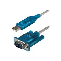 StarTech.com USB to RS232 DB9 Serial Adapter Cable - Serial adapter - USB - RS-232