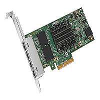 Intel Ethernet Server Adapter I350-T4-Network adapter-PCI Express 2.0 x4 low profile-Gigabit Ethernet x 4-I350T4BLK