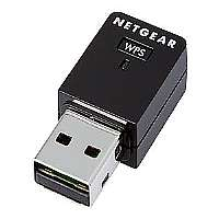 NETGEAR N300 Wireless USB Mini Adapter WNA3100M - Network adapter - USB 2.0 - 802.11b, 802.11g, 802.11n