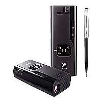 3M Mobile Projector MP220 - LCOS projector - 65 ANSI lumens - 1024 x 600 - widescreen