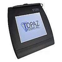 Topaz SigGem Color 5.7 - Stylus, signature terminal w/ LCD display - 4.6 x 3.4 in - electromagnetic - wired - serial, USB