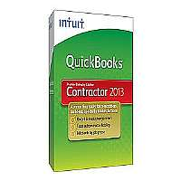 QuickBooks Premier Contractor Edition 2013 - Complete package - 1 user - CD - Win