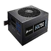 Corsair HX750 - Power supply ( internal ) - ATX12V 2.31/ EPS12V 2.92 - 80 PLUS Gold - AC 100-240 V - 750 Watt - active PFC - United States