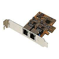 StarTech.com Dual Port Gigabit PCI Express Network