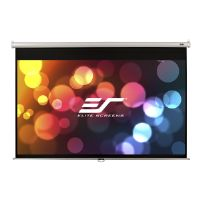 Elite Screens Manual Series M135XWH - Projection screen - 135 in ( 343 cm ) - 16:9 - MaxWhite - white