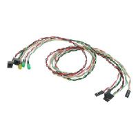 StarTech.com Replacement Power Reset LED Wire Kit for ATX Case Front Bezel - Power switch/LED assembly