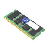 AddOn 4GB DDR3-1066MHz SODIMM for HP 577606-001 - DDR3 - 4 GB - SO-DIMM 204-pin - 1066 MHz / PC3-8500 - CL7 - 1.5 V - unbuffered - non-ECC - for HP EliteBook 8440p, 8540p, 8540w, 8740w; Pavilion m1-u0
