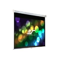 Elite Screens Manual SRM Pro Series M120HSR-PRO - Projection screen - ceiling mountable, wall mountable - 120 in (120.1 in) - 16:9 - MaxWhite FG - white