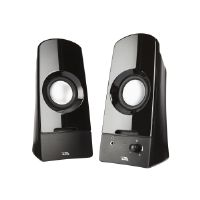 Cyber Acoustics CURVE Series CA-2050 Sonic - Speakers - for PC - 3 Watt (total)