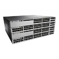 Cisco Catalyst 3850-48PW-S - Switch - L3 - managed - 48 x 10/100/1000 (PoE+) - desktop, rack-mountable - PoE+ - with 5x Cisco Access Point Adder License (LIC-CTIOS-1A)