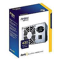 Antec Basiq BP430 - Power supply ( internal ) - ATX12V 2.2 - AC 100-240 V - 430 Watt - active PFC