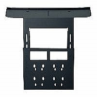 Peerless Video Conferencing Shelf ACC319 - Mounting kit ( mount, shelf, interface bracket ) for video conferencing system - cold-rolled steel - black
