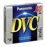 Panasonic AY DVM60EJ - Mini DV tape - 1 x 60min - for Palmcorder Multicam PV-GS32, PV-GS36