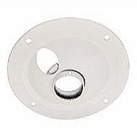 Epson Structural Round Ceiling Plate - Mounting component ( ceiling plate ) - white