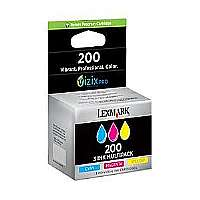 14L0268 (200) Ink, Cyan, Magenta, Yellow, 3/Pk
