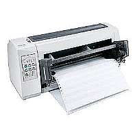 Lexmark Forms Printer 2580n+ - Printer - monochrome - dot-matrix - 297 x 559 mm - 240 x 144 dpi - 9 pin - up to 618 char/sec - USB, LAN