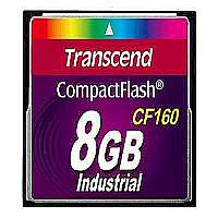 Transcend CF160 8GB CompactFlash Card - 160x (TS8GCF160)