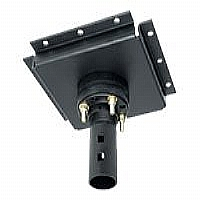 Peerless DCS400 - Mounting component ( ceiling plate, stress decoupler ) - black