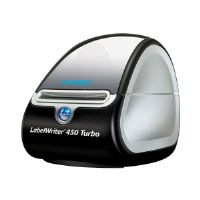 DYMO LabelWriter 450 Turbo - Label printer - thermal paper - Roll (2.44 in) - 600 x 300 dpi - up to 71 labels/min - USB