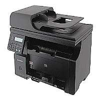 HP LaserJet Pro M1212nf MFP - Multifunction ( fax / copier / printer / scanner ) - B/W - laser - Legal (8.5 in x 14 in) (original) - ANSI A (Letter) (216 x 279 mm) (media) - up to 19 ppm (copying) - u