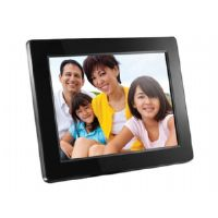 "Aluratek ADMPF512F - Digital photo frame - flash 512 MB - 12"" - 800 x 600 - black"
