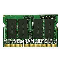 Kingston ValueRAM - DDR3 - 8 GB - SO DIMM 204-pin - 1333 MHz / PC3-10600 - CL9 - 1.5 V - unbuffered - non-ECC