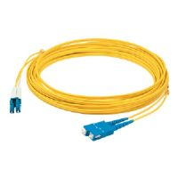 AddOn - Patch cable - SC/UPC single mode (M) - LC/UPC single mode (M) - 6.6 ft - fiber optic - 9 / 125 micron - OS1 - halogen-free - yellow