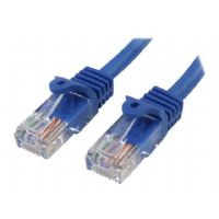 StarTech.com Snagless Cat 5e UTP Patch Cable - Patch cable - RJ-45 (M) to RJ-45 (M) - 20 ft - UTP - CAT 5e - snagless - blue