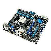 ASUS F1A75-M - Motherboard - micro ATX - Socket FM1 - AMD A75 - USB 3.0 - Gigabit LAN - onboard graphics (CPU required) - HD Audio (8-channel)
