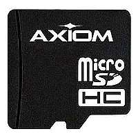 Axiom AX - Flash memory card ( microSDHC to SD adapter included ) - 8 GB - Class 10 - microSDHC