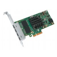 Intel Ethernet Server Adapter I350-F4 - Network adapter - PCI Express 2.0 x4 - Gigabit LAN - 1000Base-SX - 4 ports