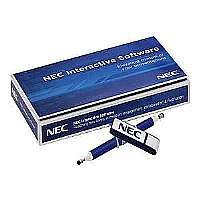NEC Interactive Software - Complete package - 1 license - flash drive - Win, Mac - with stylus pen