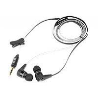 SIIG SonicBuds - Earphones - in-ear - noise isolating - black (CE-EP0012-S1)
