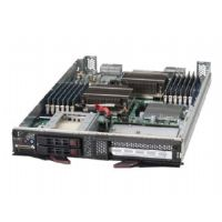 "Supermicro SuperBlade SBI-7126T-SH - Server - blade - 2-way - RAM 0 MB - SAS - hot-swap 2.5"" - no HDD - MGA G200eW - GigE - Monitor : none"