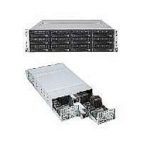 Supermicro SuperServer 6026TT-HDIBXRF - 2 nodes - cluster - rack-mountable - 2U - 2-way - RAM 0 MB - no HDD - MGA G200eW - GigE, InfiniBand - Monitor : none