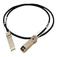 Transition SFP+ Direct Attached Copper Cable Assembly - Twinaxial cable - SFP+ (M) - SFP+ (M) - 3.3 ft - solid (DAC-10G-SFP-03M)