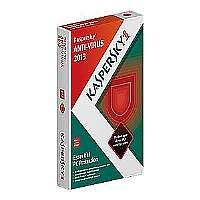 Kaspersky Anti-Virus 2013 - Subscription package ( 1 year ) - 3 PCs - CD - Win - English - United States