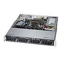 "Supermicro SuperServer 5018D-MTF - Server - rack-mountable - 1U - 1-way - RAM 0 MB - SATA - hot-swap 3.5"" - no HDD - AST2400 - GigE - Monitor : none (SYS-5018D-MTF)"
