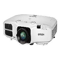 Epson PowerLite 4750W - LCD projector - 4200 lumens - 1280 x 800 - widescreen - HD 720p - LAN with 2 years Epson Road Service Program