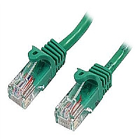 15FT CBL SNAGLESS CAT5-ETH NTWK GREEN