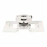 Epson Advanced Projector Ceiling Mount with Precision Gear - Mounting component ( ceiling mount ) for projector - white