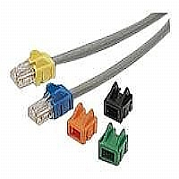 PATCH CORD RJ45 BOOT RED-25PK